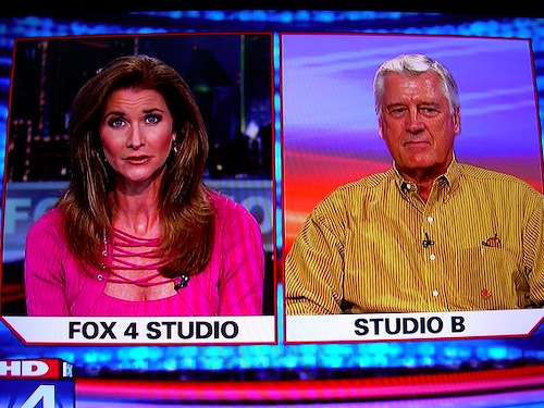 Fox4's new look 9 p m  newscast isn't quite a slam dunk, but