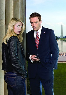 3ac0ebe1dad Living dangerously  the signature couples of Dexter   Homeland. Showtime  photos